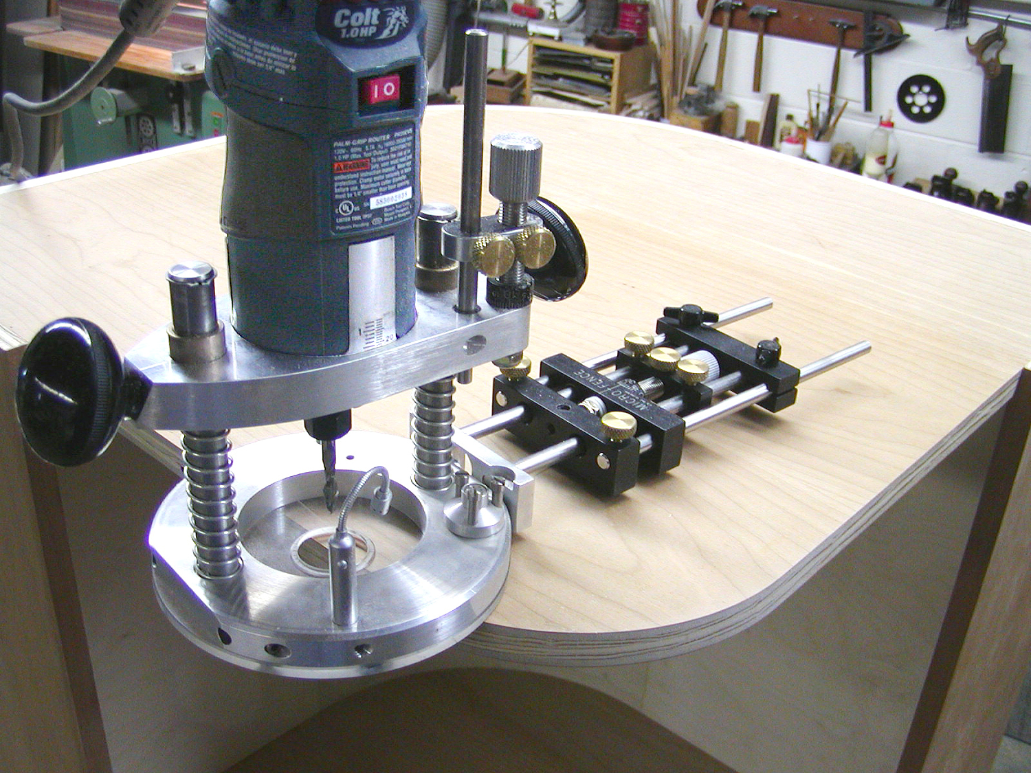 Circle Jig Attachment Microfence