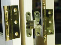 Door Hinge Close Up