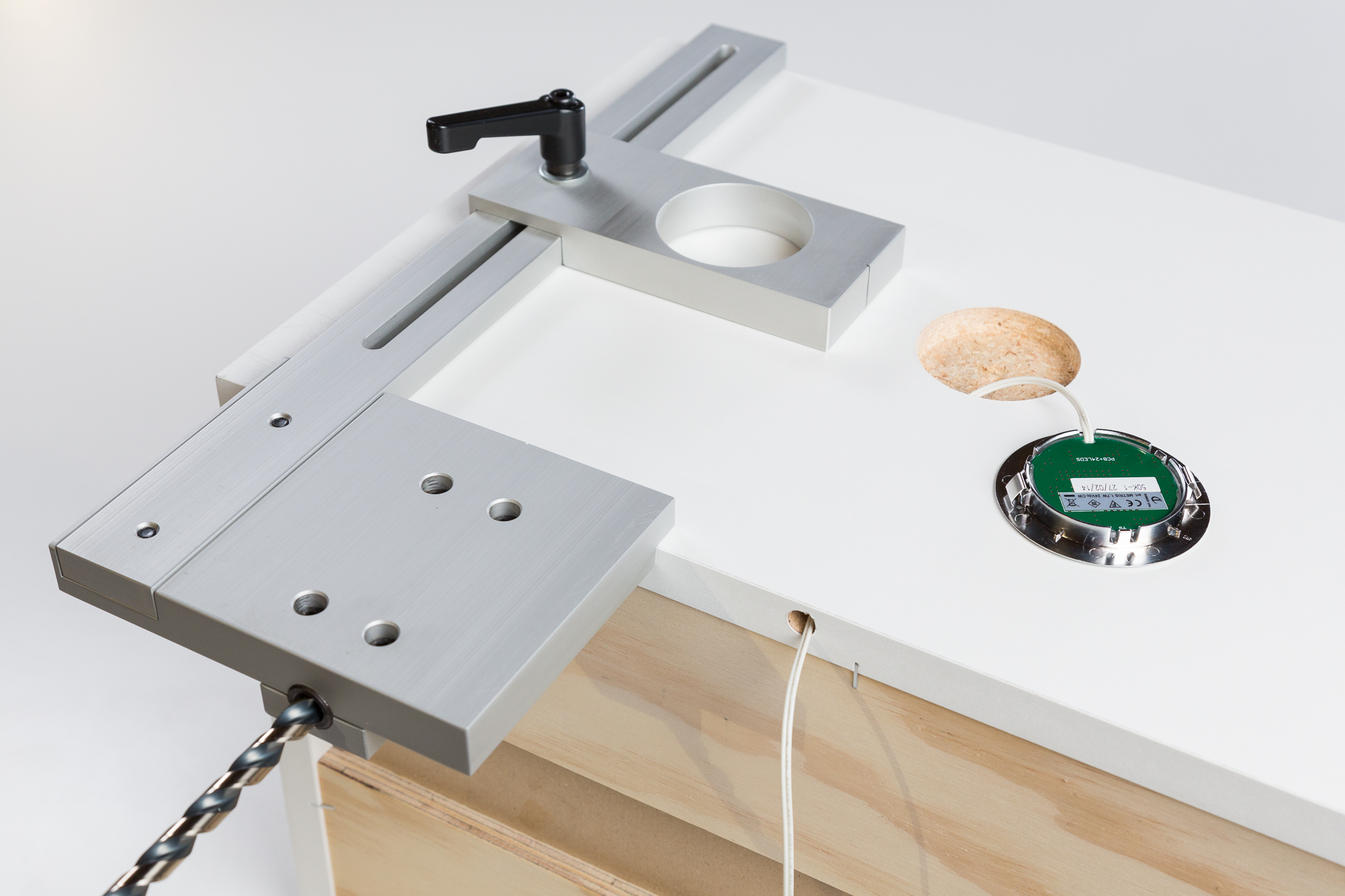 Tp plj cabinet light puck installation jig microfence tp plj cabinet light puck installation jig aloadofball Image collections
