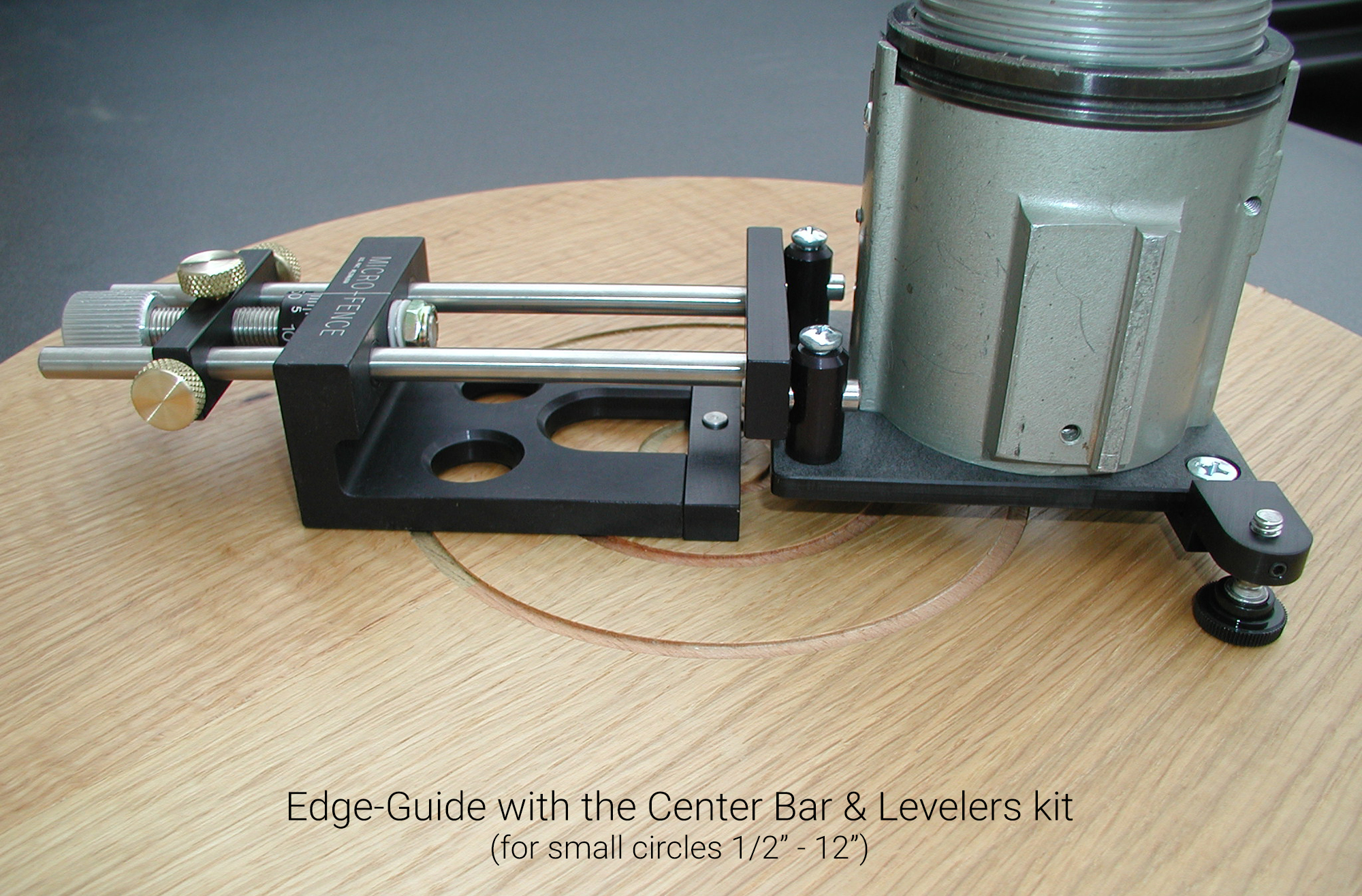 how to use a router edge guide video